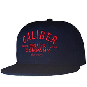 Caliber Hat: Caliber Trucks Logo Snapback Blue Hats- Edge Boardshop