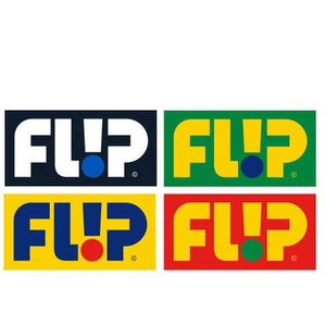 "Flip Skateboards Sticker: Odyssey 4""x2"" Stickers- Edge Boardshop"