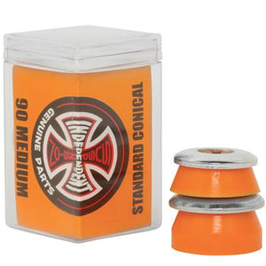 Independent Trucks Bushings: Standard Conical 90a Medium Orange 4pk Bushings- Edge Boardshop