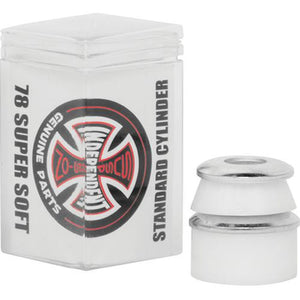 Independent Trucks Bushings: Standard Cylinder 78a Super Soft White 4pk Bushings- Edge Boardshop