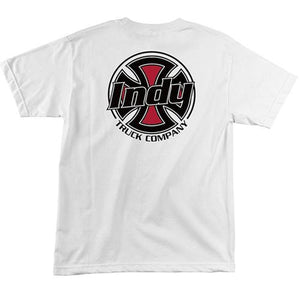 Independent Trucks T Shirt: Rally White  SALE T Shirts- Edge Boardshop