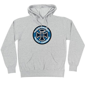 Independent Trucks Sweatshirt: TC Hoody Grey SALE Sweatshirts- Edge Boardshop