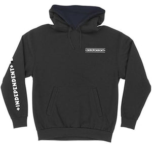 Independent Trucks Sweatshirt: Finish Line Hoody Black SALE Sweatshirts- Edge Boardshop