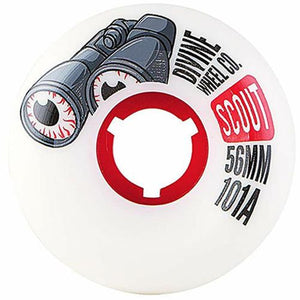 Divine Skateboard Wheels: Scout 56mm 101a Wheels- Edge Boardshop