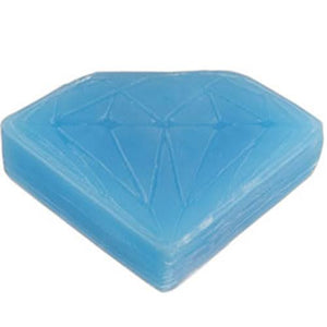 Diamond Supply Skate Wax: Hella Slick Blue Curb Wax- Edge Boardshop