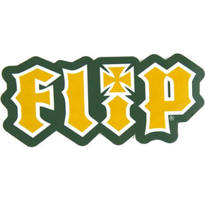 "Flip Skateboard Sticker: HKD Logo 3.25"" Stickers- Edge Boardshop"