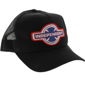 Independent Trucks Hat: MFG Mesh Black Hats- Edge Boardshop