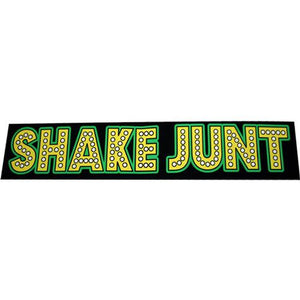 "Shake Junt Sticker: Stretch Logo 8"" Large"
