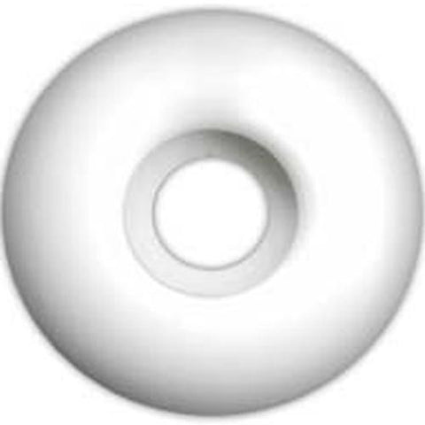 EDGE Skateboard  Wheels: Blank White 51mm Wheels- Edge Boardshop