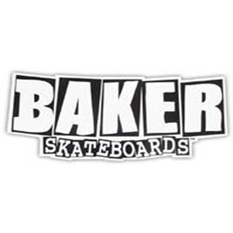 Baker Skateboards Sticker: Brand Logo Sticker Medium Stickers- Edge Boardshop