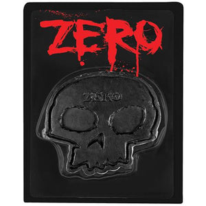 Zero Skateboards Curb Wax: Skull Black