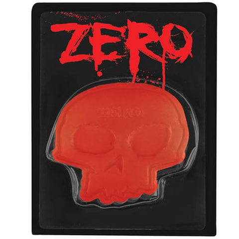 Zero Skateboards Curb Wax: Skull Red
