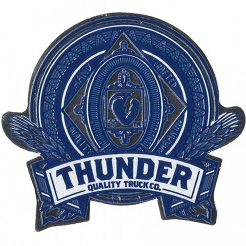 Thunder Skateboard Sticker: Thunder King 4""