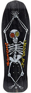 Vision Skateboard Deck: Groholski Skeleton 30 Black