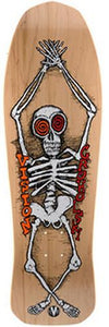 Vision Skateboard Deck: Groholski Skeleton 30 Natural