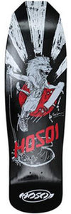Hosoi Longboard Deck: Pro Model King 32 Black Boards- Edge Boardshop