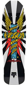 Hosoi Skateboard Deck: Wings 32 White Boards- Edge Boardshop