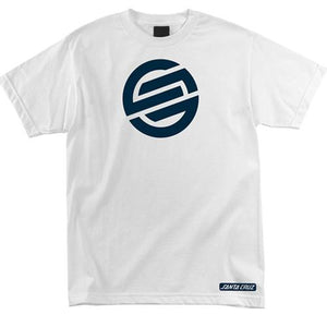 Santa Cruz T Shirt: Knot White T Shirts- Edge Boardshop