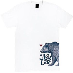 Nor Cal T Shirt: Fort Ord White T Shirts- Edge Boardshop