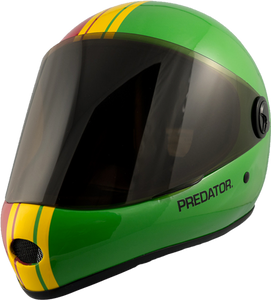 Predator Full Face Helmet: DH 6 Rasta Helmets Full Face- Edge Boardshop