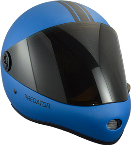 Predator Full Face Helmet: DH 6 Blue Helmets Full Face- Edge Boardshop