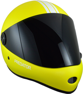 Predator Full Face Helmet: DH 6 Yellow Helmets Full Face- Edge Boardshop