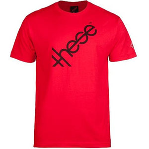 These Wheels T Shirt: These Logo Red
