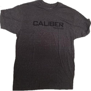 Caliber Trucks T Shirt: Logo Grey T Shirts- Edge Boardshop