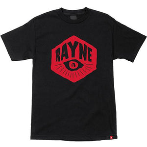 Rayne Longboards T Shirt: Eye Black T Shirts- Edge Boardshop