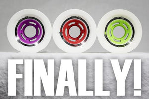 Venom Longboard Wheels:  Cannibal Cobra Core 72mm 78a Red