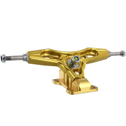 Aera Trucks: K4 186mm 50 degree Gold Trucks- Edge Boardshop