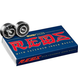 Bones Bearings: Race Reds Bearings- Edge Boardshop