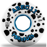 ABEC11 Longboard Wheels: Polka Dots 64mm 81a Wheels- Edge Boardshop