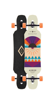 Arbor Longboard Deck: 2016 Catalyst 40 Boards- Edge Boardshop