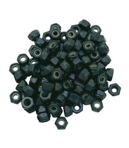EDGE Hardware:  Super A Truck Mount Lock Nuts 8 Pack Hardware- Edge Boardshop