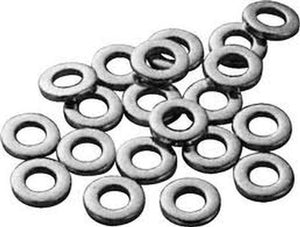 EDGE Hardware:  Super A Flat Washers 8 Pack Bushing Washers- Edge Boardshop