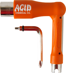 ACID SPACE SKATE TOOL ORANGE
