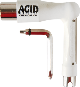 ACID SPACE SKATE TOOL WHITE