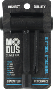 MODUS SPEED BEARINGS SKATE TOOL BLACK