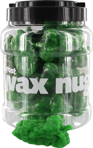 ALMOST JAR OF WAX NUGGS (18pcs) GREEN