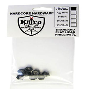 Khiro Hardware: Truck Mount Lock Nuts 8pk Hardware- Edge Boardshop