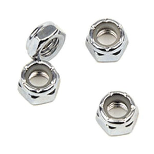 EDGE Hardware:  Super A Axle Lock Nuts 4 Pack Hardware- Edge Boardshop