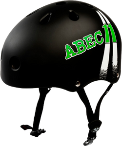 ABEC11 HIGHWAY HELMET XL-BLACK cpsc