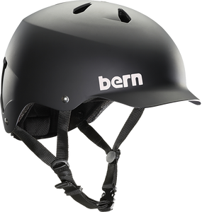 BERN WATTS MATTE BLACK XL HELMET