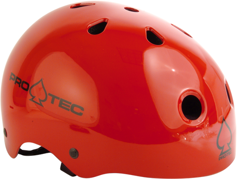 PROTEC CLASSIC GLOSS RED-M HELMET