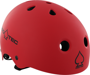 PROTEC (CPSC)CLASSIC MATTE RED XS HELMET