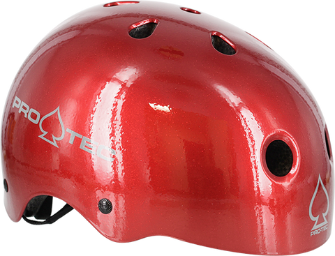 PROTEC (CPSC)CLASSIC RED FLAKE-S HELMET