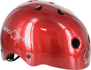 PROTEC (CPSC)CLASSIC RED FLAKE-XL HELMET