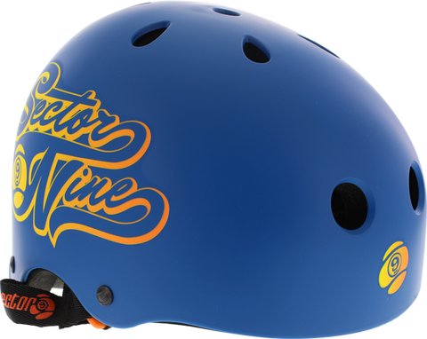 SECTOR 9 RALLY HELMET L-BLUE