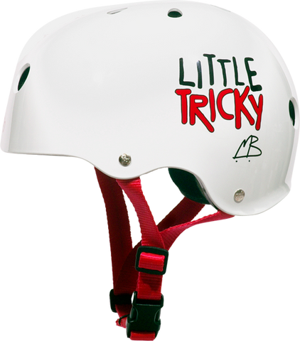 T8 LITTLE TRICKY HELMET WHITE GLOSS eps liner